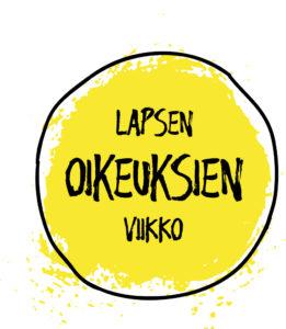 Lapsen oikeuksien viikko -logo