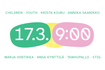 Come and celebrate Finland's first National Child Strategy on Wednesday 17 March at 9 o'clock. !
